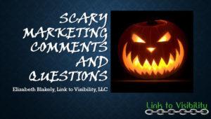 Scary Marketing, Halloween